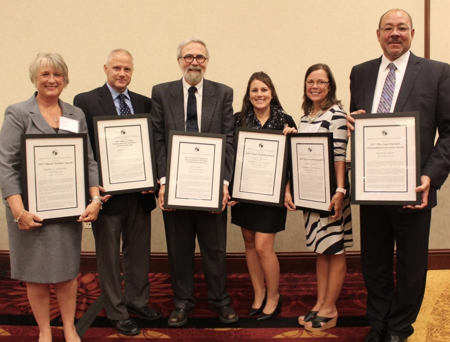 teachers with awards