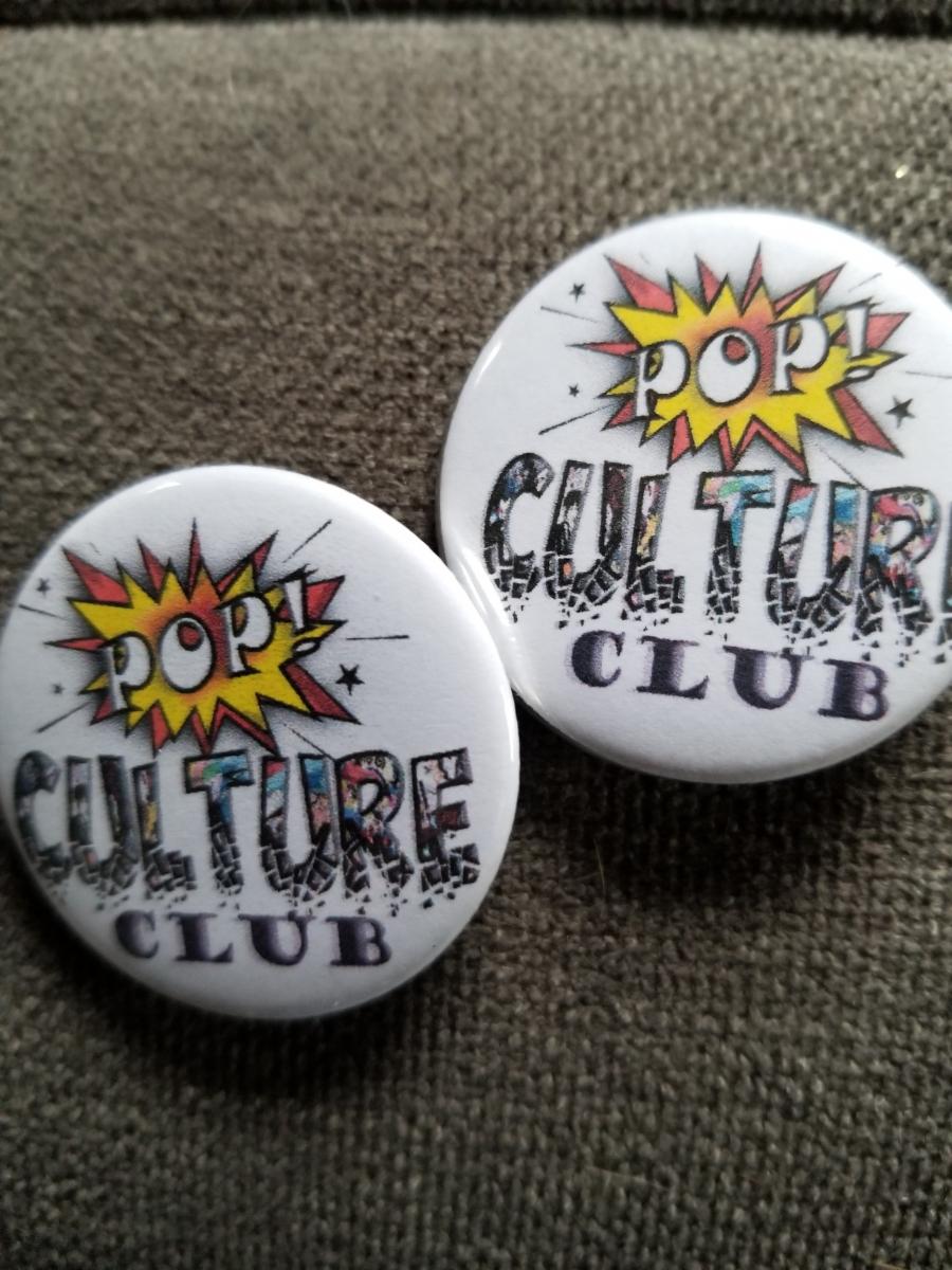 Pop Culture Club Button