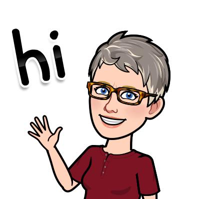 cartoon picture of Mrs. Ensman